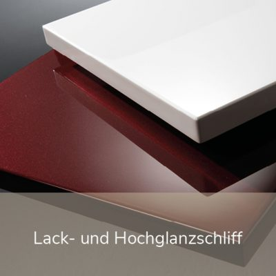 lack-undhochglanzschliff